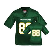 Youth Replica Dark Green Football Jersey-#88