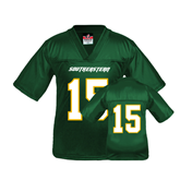 Youth Replica Dark Green Football Jersey-#15