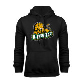 Black Fleece Hoodie-Lions w/Lion