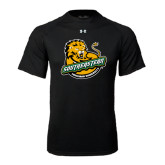 Under Armour Black Tech Tee-Official Logo