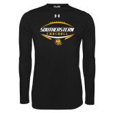 Under Armour Black Long Sleeve Tech Tee-Southeastern Football