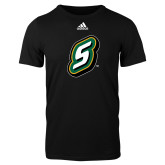 Adidas Black Logo T Shirt-S