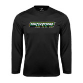Syntrel Performance Black Longsleeve Shirt-Southeastern