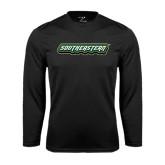 Performance Black Longsleeve Shirt-Southeastern