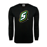 Black Long Sleeve TShirt-S