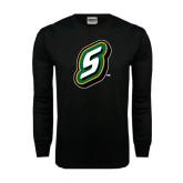 Black Long Sleeve TShirt-S