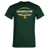 Dark Green T Shirt-Southeastern Football