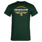 Dark Green T Shirt-Southeastern Football