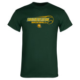 Dark Green T Shirt-Southeastern Baseball w/ Ball