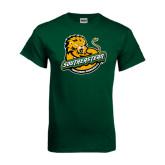 Dark Green T Shirt-Official Logo