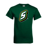 Dark Green T Shirt-S