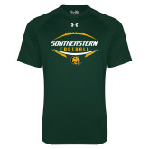 Under Armour Dark Green Tech Tee-Southeastern Football