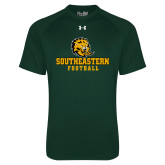 Under Armour Dark Green Tech Tee-Football