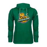 Adidas Climawarm Dark Green Team Issue Hoodie-Official Logo