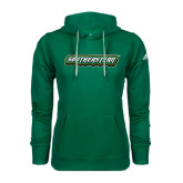 Adidas Climawarm Dark Green Team Issue Hoodie-Southeastern