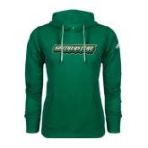Adidas Climawarm Dark Green Team Issue Hoodie-Southeastern