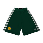 Adidas Climalite Dark Green Practice Short-Official Logo