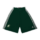 Adidas Climalite Dark Green Practice Short-S