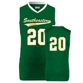 Replica Dark Green Adult Basketball Jersey-#20