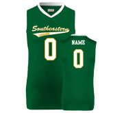 Replica Dark Green Adult Basketball Jersey-Personalized