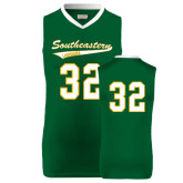 Replica Dark Green Adult Basketball Jersey-#32