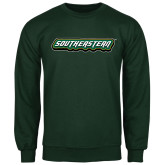 Dark Green Fleece Crew-Southeastern