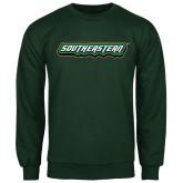 Dark Green Fleece Crew-Southeastern