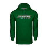 Under Armour Dark Green Performance Sweats Team Hoodie-Southeastern