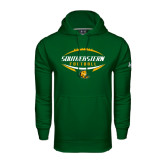 Under Armour Dark Green Performance Sweats Team Hoodie-Southeastern Football