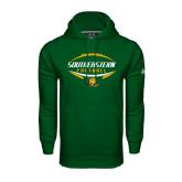 Under Armour Dark Green Performance Sweats Team Hoodie-Southeastern Football