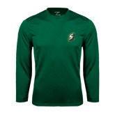 Syntrel Performance Dark Green Longsleeve Shirt-S