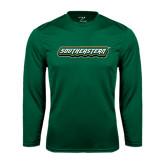 Performance Dark Green Longsleeve Shirt-Southeastern