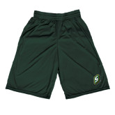Performance Classic Dark Green 9 Inch Short-S