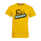 Gold T Shirt-Lions w/Lion