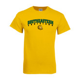 Gold T Shirt-Arched Southeastern Louisiana