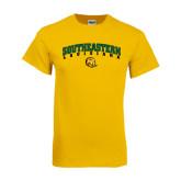 Gold T Shirt-Arched Southeastern Louisiana