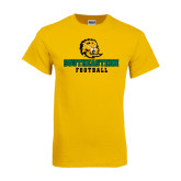 Gold T Shirt-Football