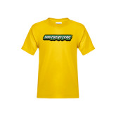 Youth Gold T Shirt-Southeastern