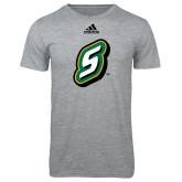 Adidas Sport Grey Logo T Shirt-S