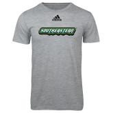 Adidas Sport Grey Logo T Shirt-Southeastern