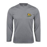Syntrel Performance Steel Longsleeve Shirt-Lions w/Lion