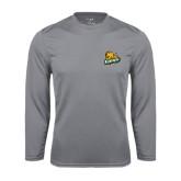 Performance Steel Longsleeve Shirt-Lions w/Lion