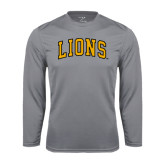 Performance Steel Longsleeve Shirt-Arched Lions