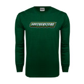 Dark Green Long Sleeve T Shirt-Southeastern