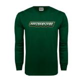 Dark Green Long Sleeve T Shirt-Southeastern
