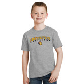 Youth Grey T-Shirt-Arched Southeastern Louisiana
