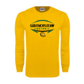 Gold Long Sleeve T Shirt-Southeastern Football