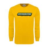 Gold Long Sleeve T Shirt-Southeastern