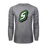 Grey Long Sleeve T Shirt-S