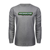 Grey Long Sleeve T Shirt-Southeastern